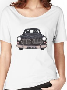 Black Volvo Cats Women's Relaxed Fit T-Shirt