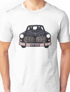 Black Volvo Cats Unisex T-Shirt