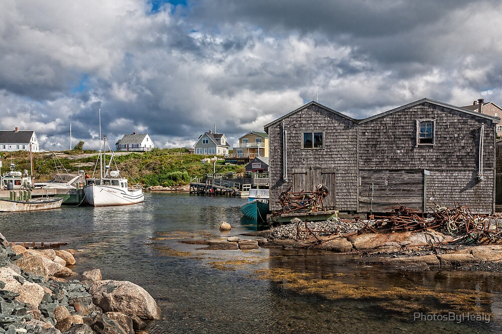 Peggy's Cove III by PhotosByHealy