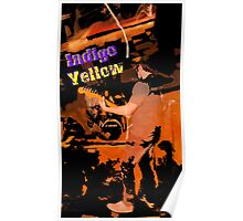 Indigo Yellow Band Poster - Fire Poster