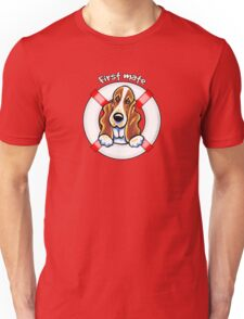 Basset Hound :: First Mate Unisex T-Shirt