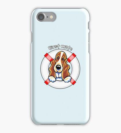 Basset Hound :: First Mate iPhone Case/Skin
