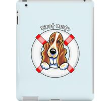Basset Hound :: First Mate iPad Case/Skin