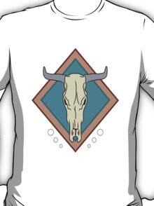 Cattle Skull t-shirt/ sticker T-Shirt