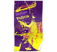 Indigo Yellow Band Poster - Funked I&Y Poster