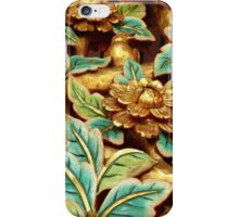 Gold Flowers iPhone iPod Case iPhone Case/Skin