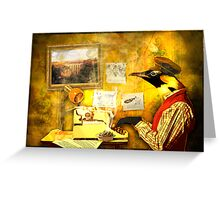 Paperback Writer Greeting Card