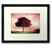 'Cherry Tree' Framed Print