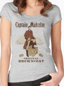 Captain Malcolm  Women's Fitted Scoop T-Shirt