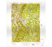 USGS TOPO Map New Hampshire NH Mascoma 330145 1927 62500 Poster