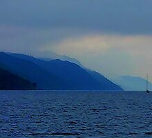 Early morning leaving Fort Augustus, Loch Ness, Scotland.......! by Roy  Massicks