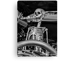 Message Under the Hood...Don't Drink & Drive... Canvas Print