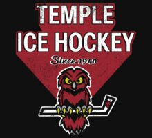 Temple Hockey Since 1940 by DCVisualArts