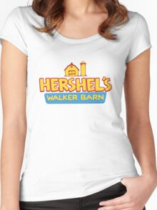 Hershel's Walker Barn Women's Fitted Scoop T-Shirt
