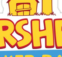 Hershel's Walker Barn Sticker