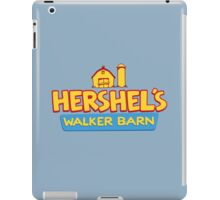 Hershel's Walker Barn iPad Case/Skin