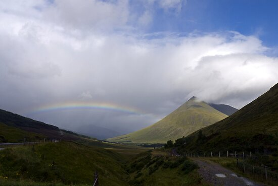 Rainbow over Orchy by mikebov