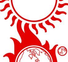 "Solar Storm Sticker - ""Choose Your End"" Sticker"