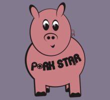 Pork Star T-Shirt by nealcampbell