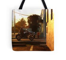 Riding home Tote Bag