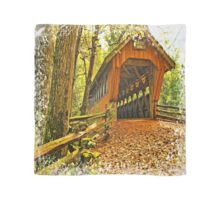 Covered Bridge,Little Hope Wisconsin #2 Scarf