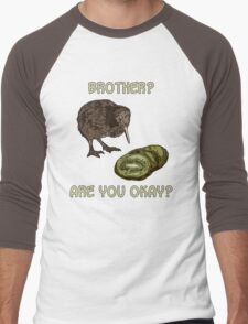 The Kiwi is Dead Men's Baseball ¾ T-Shirt