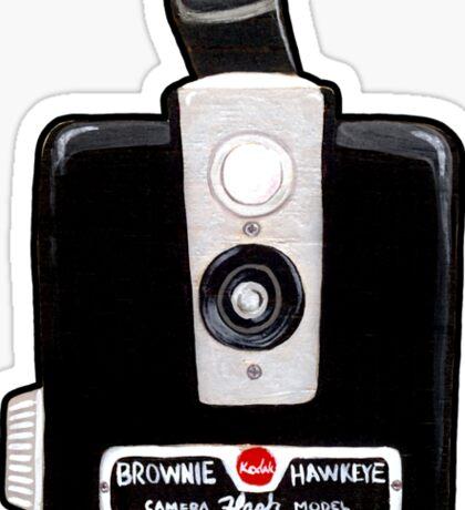 The Brownie Camera Sticker