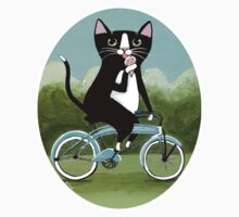 Ice Cream Bicycle Cat Kids Clothes