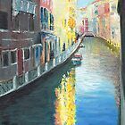 Venice Canal in Afternoon Sunshine by Dai Wynn