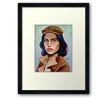 gift of gab Framed Print