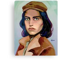 gift of gab Canvas Print
