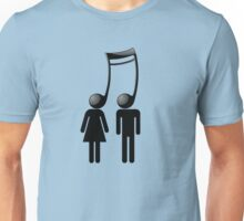 THE POWER OF MUSIC Unisex T-Shirt