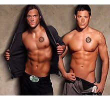 Supernatural - Sam & Dean Photographic Print