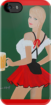 Beer wench by Artistkaz