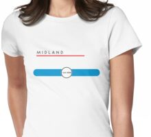 Midland station Womens Fitted T-Shirt