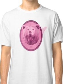 Hunting Series - The Pink Bear Head Classic T-Shirt