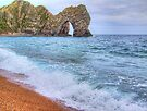 Surf - Durdle Door by Colin  Williams Photography