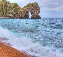 Surf - Durdle Door by Colin J Williams Photography