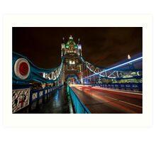 Welcome to Tower Bridge Art Print