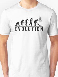 Evolution of Gardening T-Shirt