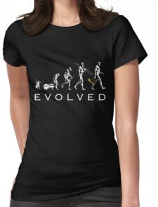 French Horn Evolution Womens Fitted T-Shirt