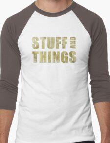 Stuff and things Men's Baseball ¾ T-Shirt