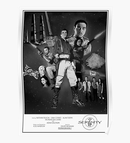 Serenity: The Alliance Strikes Back (black and white version) Poster