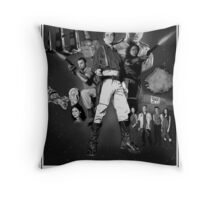 Serenity: The Alliance Strikes Back (black and white version) Throw Pillow