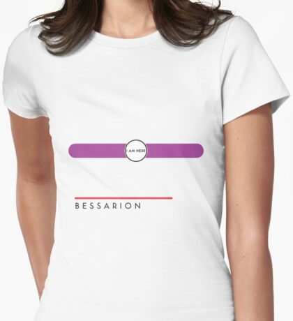 Bessarion station Womens Fitted T-Shirt