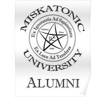 Miskatonic University - Alumni Poster