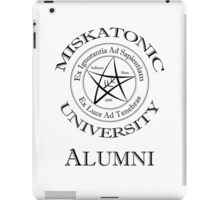 Miskatonic University - Alumni iPad Case/Skin