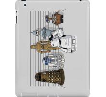 Droid Lineup iPad Case/Skin