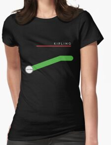 Kipling station Womens Fitted T-Shirt