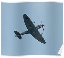 Smiling Spitfire Poster